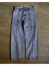 VAPORIZE / Pigment Dye Denim Work Pants