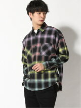 THE GALLERY 888/(U)GRADIENT PLAID SHIRT