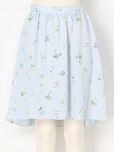 ボタニカルピーチフィッシュテールスカート