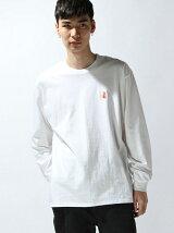 刺繍 LONG T-SHIRT