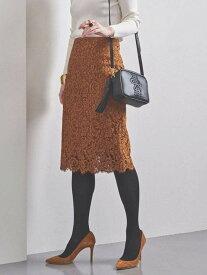 UNITED ARROWS UBCSレースタイトスカート19AW ユナイテッドアローズ スカート ロングスカート イエロー ブラック ネイビー【送料無料】