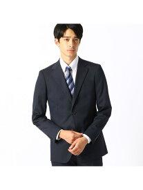 COMME CA ISM 〈セットアップ〉シャドーストライプストレッチスーツジャケット コムサイズム ビジネス/フォーマル セットアップスーツ ネイビー ブラック【送料無料】