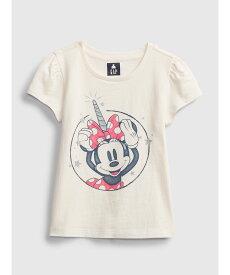 【SALE/25%OFF】GAP (K)Babygap | Disney ミニーマウス オーガニック ミックス&マッチTシャツ ギャップ カットソー キッズカットソー ホワイト ブルー