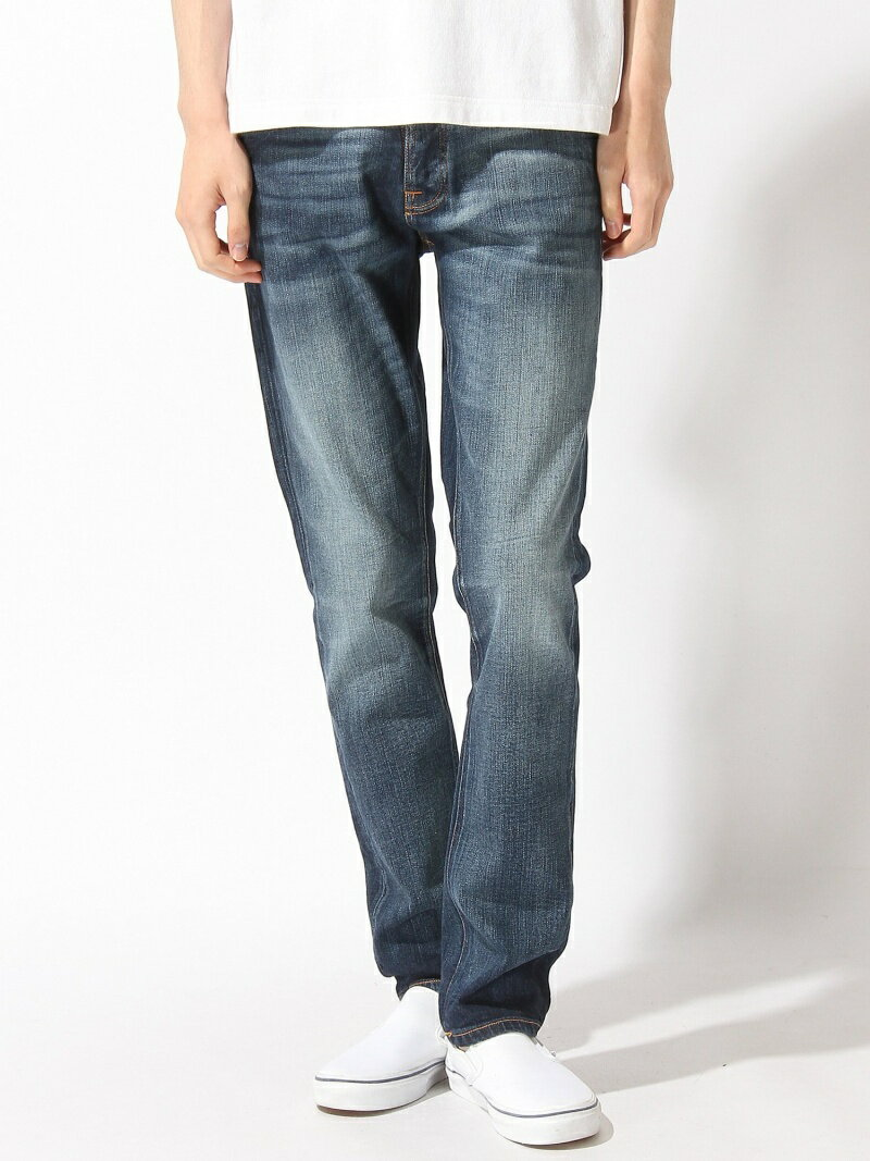 【SALE/40%OFF】nudie jeans/(M)Grim Tim_スリムジーンズ ヌーディージーンズ / フランクリンアンドマーシャル パンツ/ジーンズ【RBA_S】【RBA_E】【送料無料】