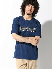 【SALE/60%OFF】nano・universe Selected :サガラ刺繍 シティロゴTシャツSS ナノユニバース カットソー Tシャツ ネイビー ブラック ホワイト レッド
