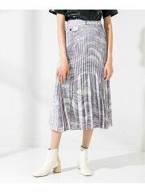 【SALE/30%OFF】UNITED TOKYO SUMINAGASHIプリントスカート ユナイテッドトウキョウ スカート スカートその他 パープル イエロー【送料無料】