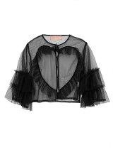 tulle heart blouse