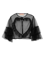 tulle heart blouse