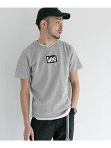 Lee×DOORS-natural- LOGO PRINT T-SHIRTS