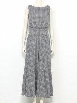DOBBY CHECK Dress