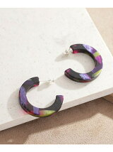 40mm Hoop Pierced Earrings