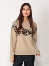Snow pattern Knit