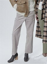c/pe. Corduroy marine pants