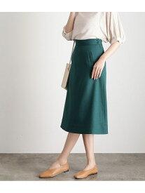 【SALE/18%OFF】ViS 【WEB限定SS,LLサイズ】【EASY CARE】パイピングナロースカート ビス スカート スカートその他 グリーン ベージュ ネイビー