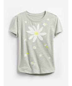 【SALE/24%OFF】GAP (K)変身スパンコールグラフィックtシャツ (キッズ) ギャップ カットソー キッズカットソー グレー ホワイト パープル