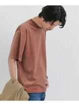 ベロア五分袖Tシャツ