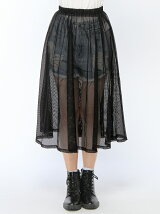 Pzzz/(L)メッシュスカート