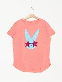 【SALE/24%OFF】GAP (K)Kids Flippy Sequin Graphic T-Shirt ギャップ カットソー キッズカットソー ピンク ネイビー
