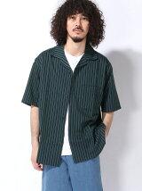 【BROWNY VIN】(M)ブロードオープンカラーシャツ(S)