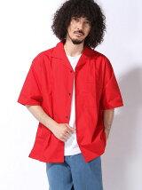 (M)ブロードオープンカラーシャツ(S)