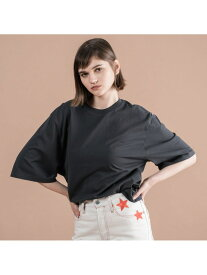 【SALE/30%OFF】Levi's LEVI'S® MADE & CRAFTED® オーバーサイズスリーブTシャツ JET BLK リーバイス カットソー Tシャツ【送料無料】