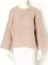 mohair pile pullover