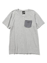 【SPECIAL PRICE】BEAMS T / ボーダーポケット T