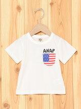 ANAPKIDSポケットTシャツ