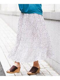 【SALE/50%OFF】a.v.v クリンクル風プリーツスカート アー・ヴェ・ヴェ スカート スカートその他 ホワイト ブラック