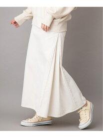 【SALE/50%OFF】Munich 10ozリバースダイホワイトデニムマキシスカート ミューニック スカート デニムスカート ホワイト【送料無料】