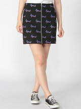 CHEWY LOGO ZIP SKIRT