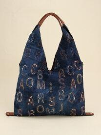 fiore fiore/(W)デニムラインストーン三角セミSD ファッションバッグプラザ ラミー バッグ トートバッグ ネイビー ブルー【送料無料】