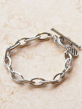 PHILIPPE AUDIBERT オーバルチェーンブレスレット / bracelet Elton