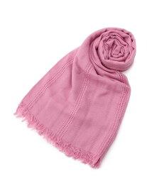 【SALE/50%OFF】Couture brooch ジャカードストール クチュールブローチ ファッショングッズ ストール ピンク ブルー