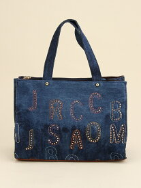 fiore fiore/(W)デニムラインストーンハンド小 ファッションバッグプラザ ラミー バッグ トートバッグ ネイビー ブルー【送料無料】