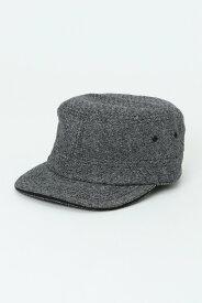 ikka ウールソリッド&MIXワークキャップ イッカ 帽子/ヘア小物