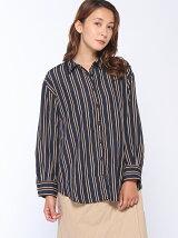 ストライプ柄3WAYシャツ