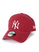 9TWENTY CLOTH STRAPBACK CAP MLB NYY