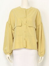POWDERY POPLIN Blouse