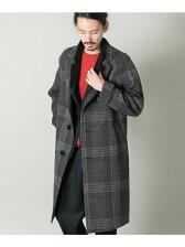 COSEI Glen check Coat