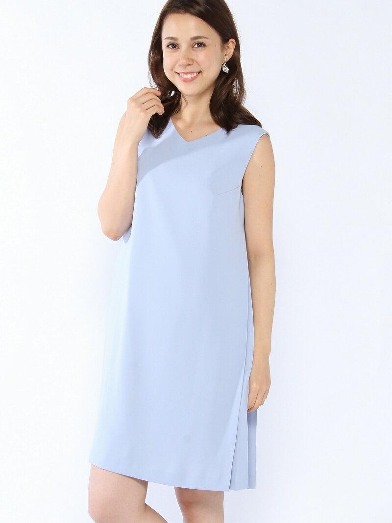 【SALE/30%OFF】MEW'S REFINED CLOTHES サイドプリーツドレス《結婚式/二次会/謝恩会/パーティー》 ミューズ リファインド クローズ ビジネス/フォーマル【RBA_S】【RBA_E】【送料無料】