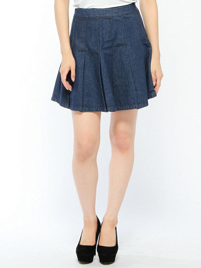 【SALE/67%OFF】CECIL McBEE ガーリーデニムプリーツスカート セシル マクビー スカート【RBA_S】【RBA_E】
