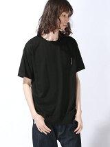 【JUNIOR SWEET】(M)肩ZIPメガスリッドTシャツ