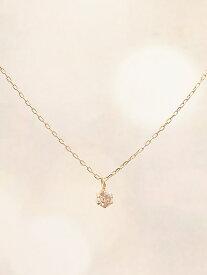 Phoebe Phoebe/(W)【K10】グラインダイヤモンドネックレス ジュエルアディクト アクセサリー【送料無料】