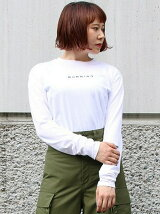 BURNNING EMBROIDERY L/S TEE
