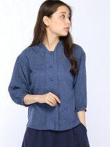 ひねり衿シャツ
