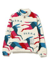 by Parra / JUMPING FOXES SHERPA FLEECE PULLOVER