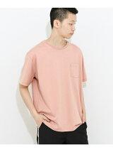 オーガニックコットンポケTシャツ(5分袖)