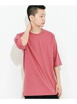 オーガニックコットンロングTシャツ(5分袖)