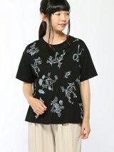 30th企画リボンフラワー刺繍Tシャツ
